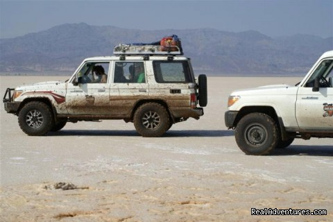 Tours in Ethiopia ..The right way: Salt plains of Dallol