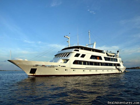 Dive the Maldives on MV Yasawa Princess