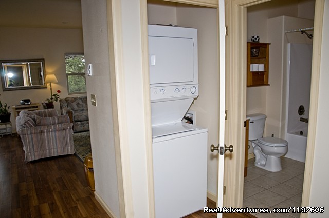 Fariy House laundry facility - Enchanted Forest Accommodations Crestone CO