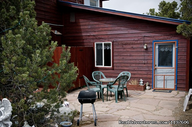 Private Cottage with patio and BBQ (#8 of 23) - Enchanted Forest Accommodations Crestone CO