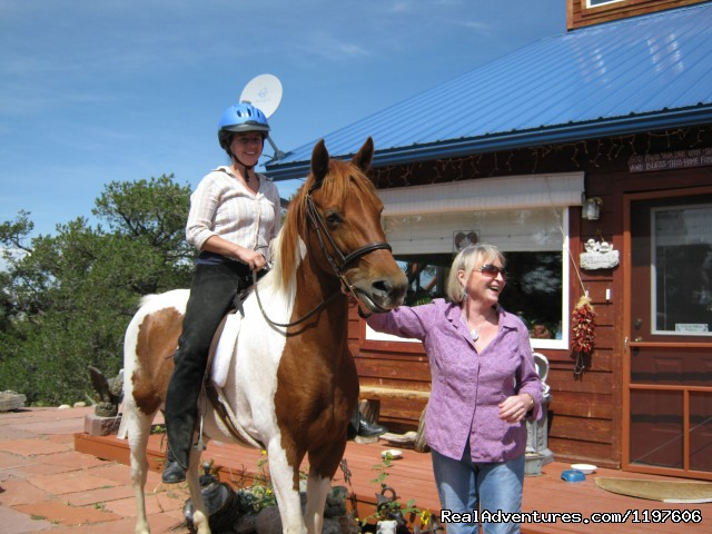 Riding stables close by - Enchanted Forest Accommodations Crestone CO