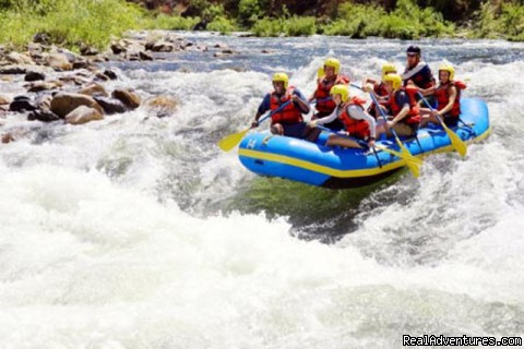 Camping with Adventures including Rafting, Trekkin