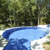 pool and jacuzzi with ocean view/ access