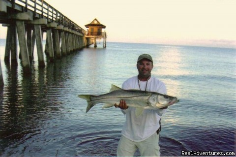 Naples Pier Snook - Naples Custom Fishing Charters