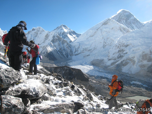 Trekking and Hiking in Nepal Mt. Everest Top Of the world