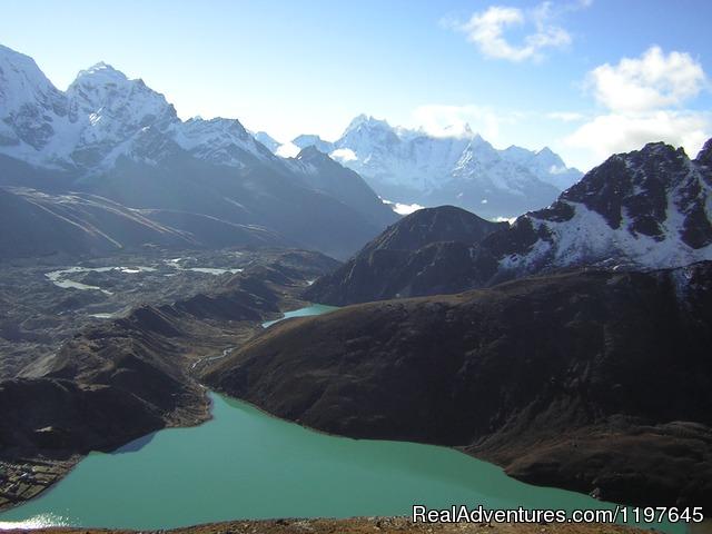 Trekking and Hiking in Nepal Gokyo Lake