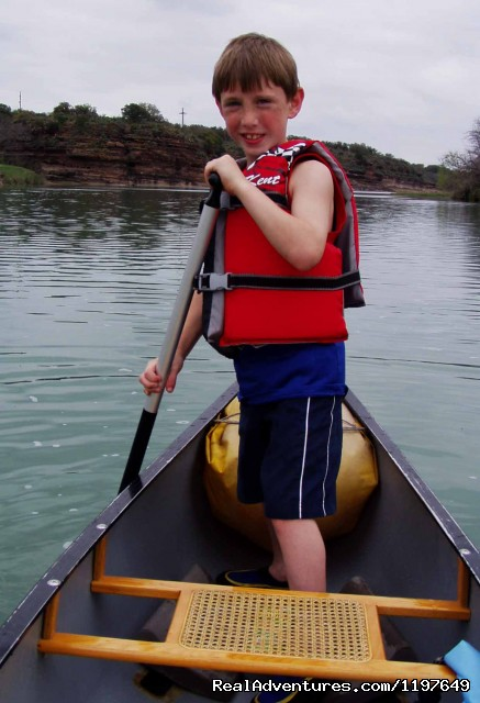 Looking Happy in the Stern (#14 of 21) - Kayaking and Canoeing Rentals & Tours