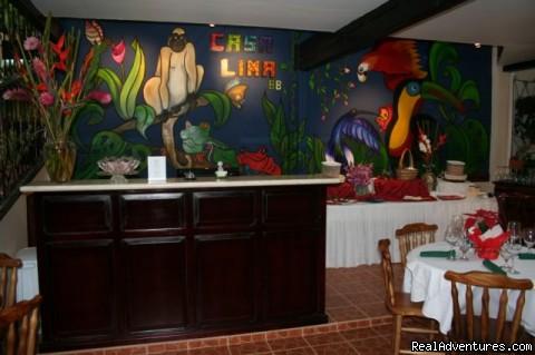 RECEPTION DESK - A Casa Lima B&B