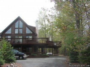 Charming Chalet with HUGE Deck Albrightsville, Pennsylvania Vacation Rentals