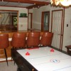 Charming Chalet with HUGE Deck game room with wet bar and air hockey table