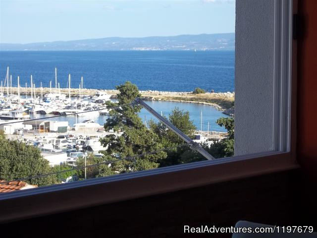 Sea view from apartment - Sunny apartment with sea views close to the sandy