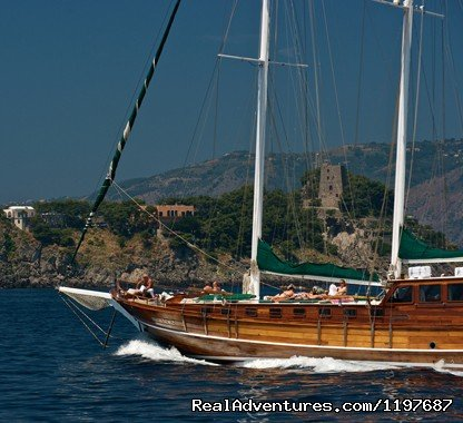 Gulet Deriya Deniz, Amalfi Coast, Italy | Image #4/23 | Archaeological Tours, Gulet Cruises and Charters