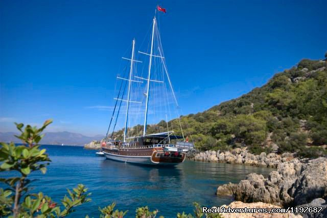 Gulet Kayhan 11 | Image #8/23 | Archaeological Tours, Gulet Cruises and Charters