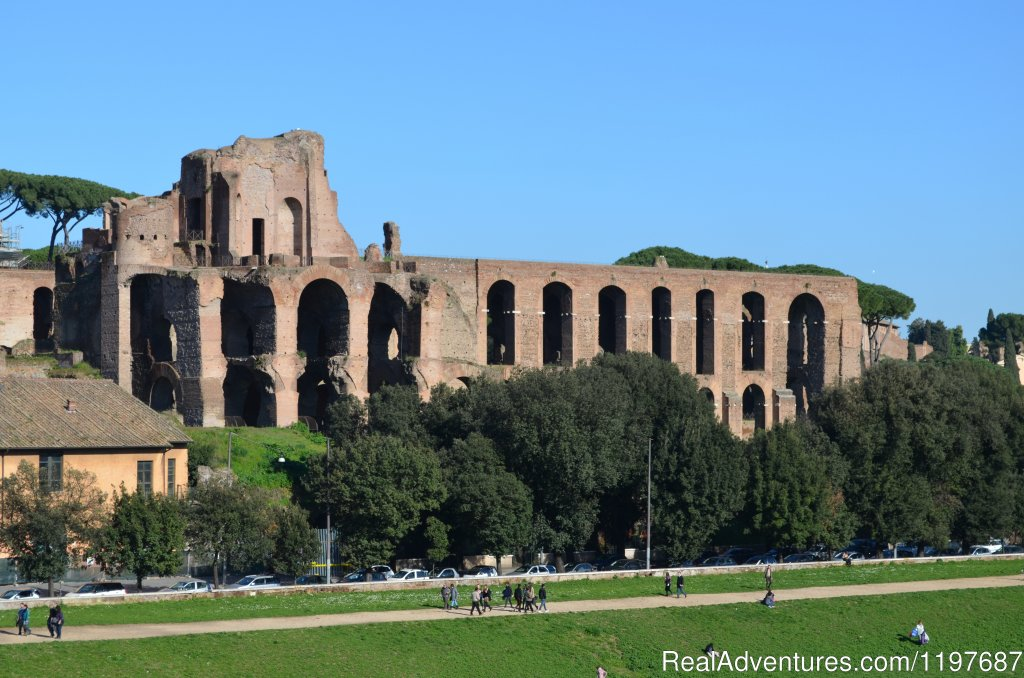 Palatine Hill, Rome | Image #13/23 | Archaeological Tours, Gulet Cruises and Charters