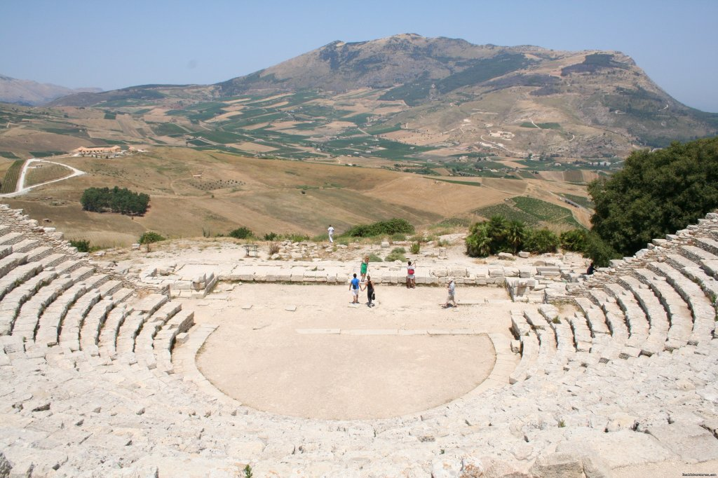 Ancient theatre at Segesta, Sicily, Italy | Image #21/23 | Archaeological Tours, Gulet Cruises and Charters