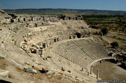 Ancient theatre of Miletus, Turkey - Archaeological Tours, Gulet Cruises and Charters