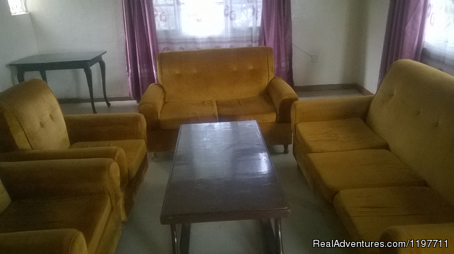 TWO bedroom apartment living room - Hotel Near lake & Furnished Apartment.Kisumu,Kenya