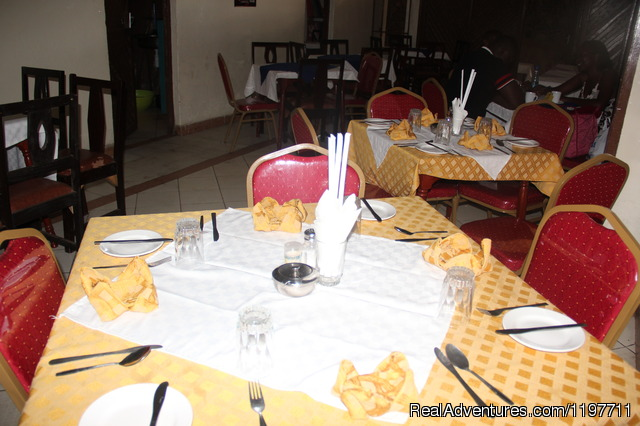 Hotel Restaurant - Hotel Near lake & Furnished Apartment.Kisumu,Kenya