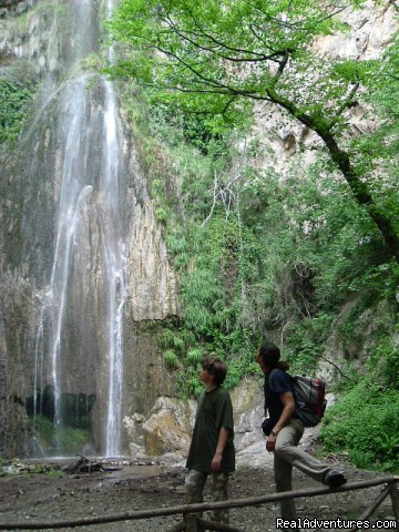 the waterfall in costiera sorrentina - Sun ,sea,trekking , Kayak ,culture & The Best Food