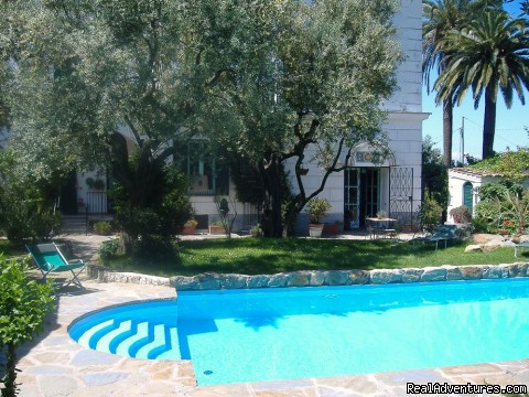 the swimming pool in villa Erca - Sun ,sea,trekking , Kayak ,culture & The Best Food