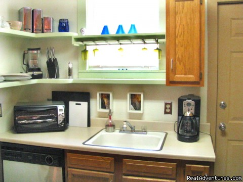 Kitchen  - Roswell Vacation Rental House Alien Cottage