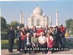 STAR TOURISTIC ATTRACTION OF THE WORLD- TAJ MAHAL -  Tour consultant/escort/guide  MAJESTIC INDIA