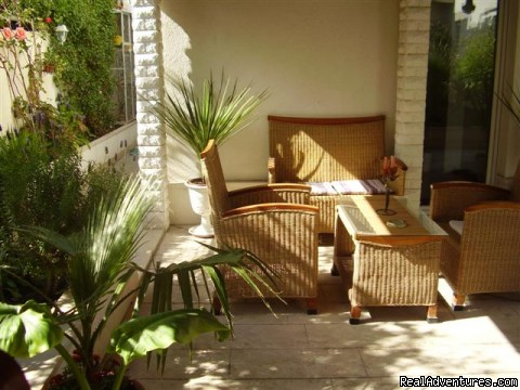 Garden - Lux apartment with private garden close the beach