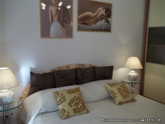 Bedroom 2 - Lux apartment with private garden close the beach