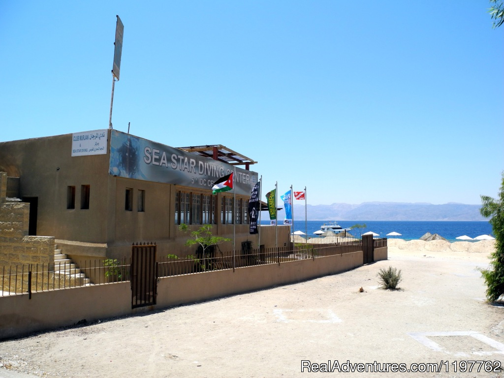 Outside view of the dive centtre | Image #1/23 | Aqaba, Jordan | Scuba & Snorkeling | Red Sea Diving - With out the crowds