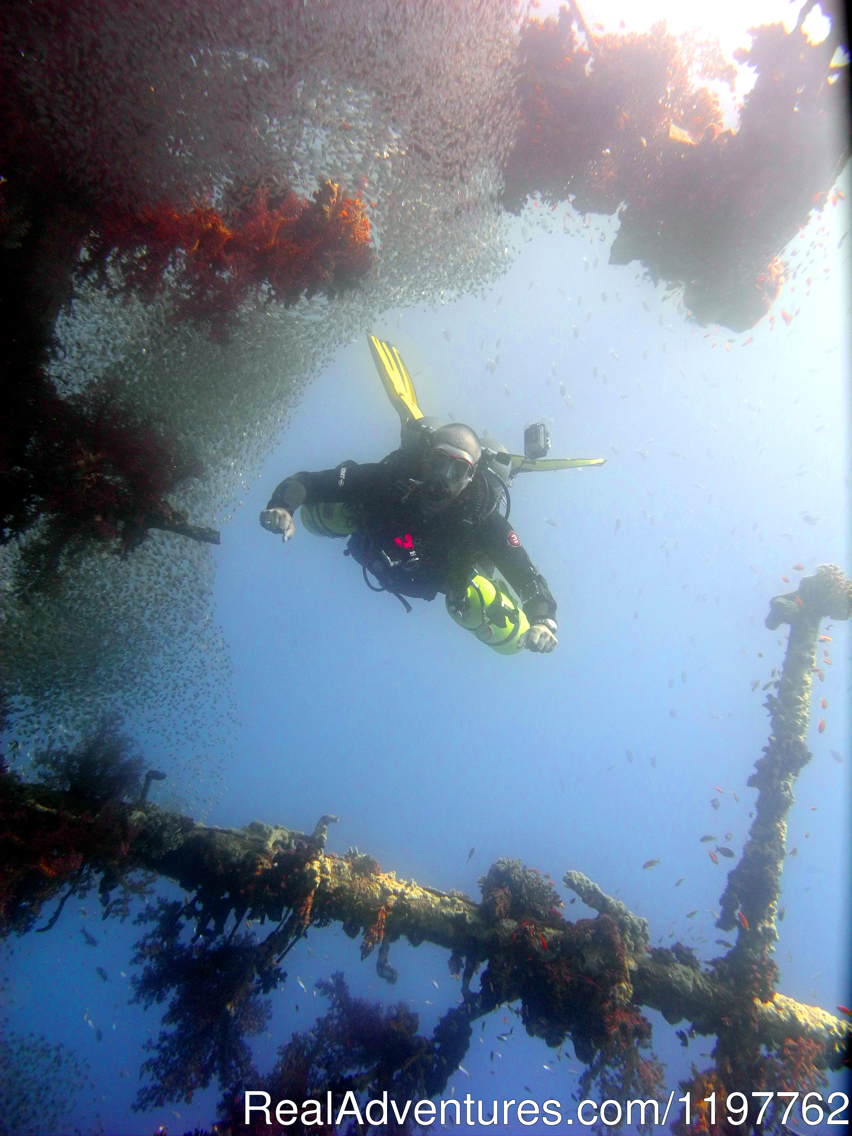 Tec at the Wreck | Image #21/23 | Red Sea Diving - With out the crowds