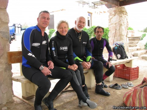 After a dive at the Wreck - Red Sea Diving - With out the crowds