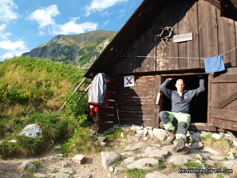 Cottage in the Western Tatras - Adventure Hiking & Trekking in Slovakia