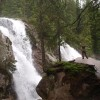 Waterfalls of Studeny potok in the High Tatras