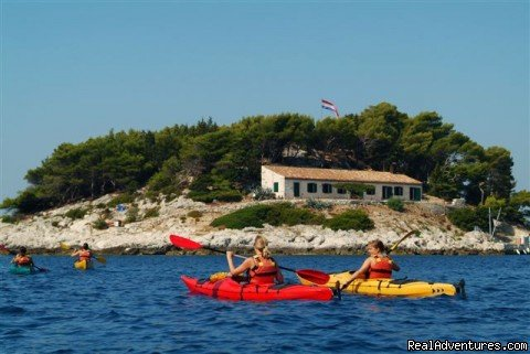 Kayaking to Pakleni islands | Image #3/5 | Sea Kayaking Adventure in Croatia