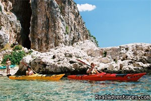 kayaking on Hvar isalnd - Sea Kayaking Adventure in Croatia
