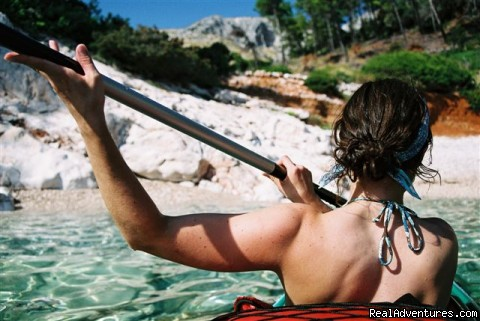 Kayaking in Croatia - Sea Kayaking Adventure in Croatia