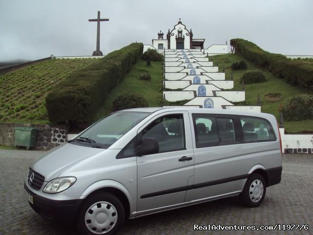 Mercedes Vito at Nossa Sra. da Paz Chapel (#2 of 26) - Azores Van & Taxi Tours