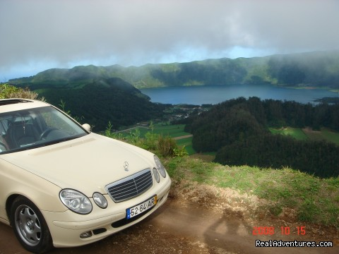 Tour on the Crater Lake of Sete Cidades - Azores Van & Taxi Tours