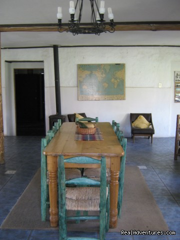 dining room - Lodging in rural house at  Aconcagua Valley