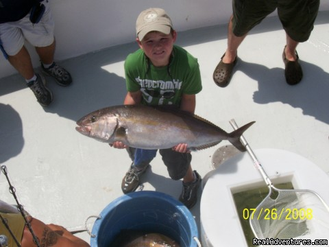 Young man with a big'n (#2 of 4) - Gulf Shores-Orange Beach FISHING