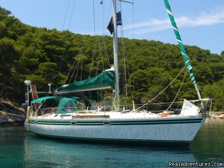 Sailing & Yoga - Greece onboard 47ft Private Yacht Libertas 47ft Jeanneau