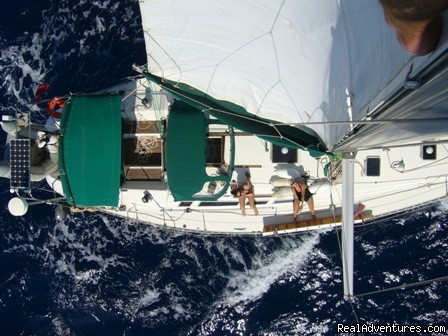 At Sea - Sailing & Yoga - Turkey onboard 47ft Private Yacht