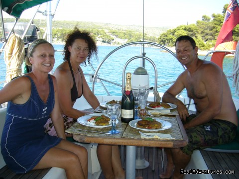 Long Lazy Lunch (#8 of 26) - Sailing & Yoga - Turkey onboard 47ft Private Yacht