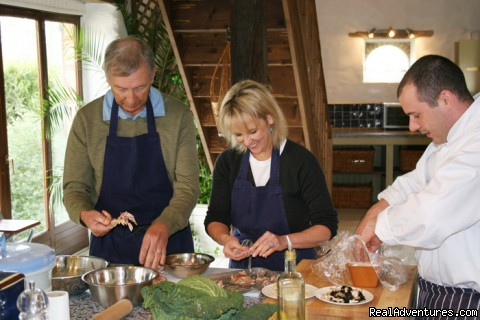 Cooking course in France - Cooking at the Walnut Grove