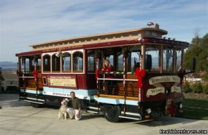 Wine tasting on a 1914 San Francisco cable car Sight-Seeing Tours temecula, California