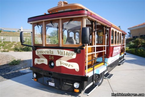 -  Wine tasting on a 1914 San Francisco cable car