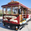 Wine tasting on a 1914 San Francisco cable car