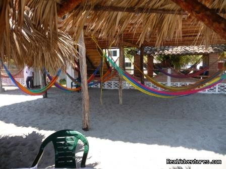 Beachside Hammock - Hotel Paseo Sol beach mar costa sol El Salvador