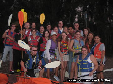 MeetUp Group Ready to Go - A Day Away Kayak Tours