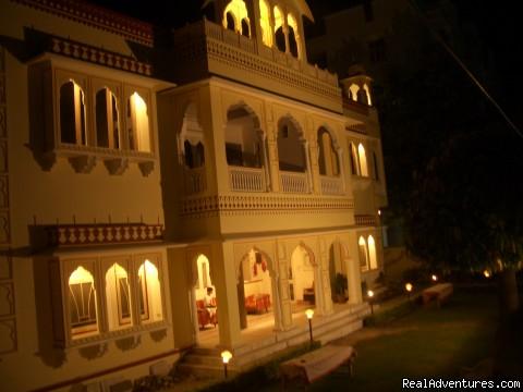Krishna Palace Front View